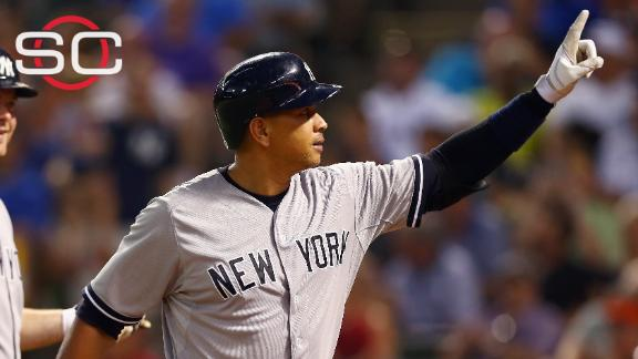 A-Rod hits another home run on his birthday