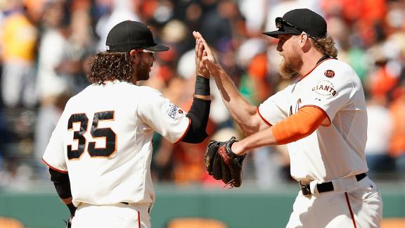 Are red-hot Giants team to beat in NL West?