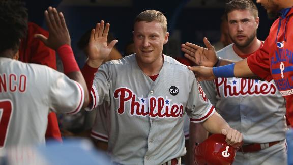 Phillies win fifth straight