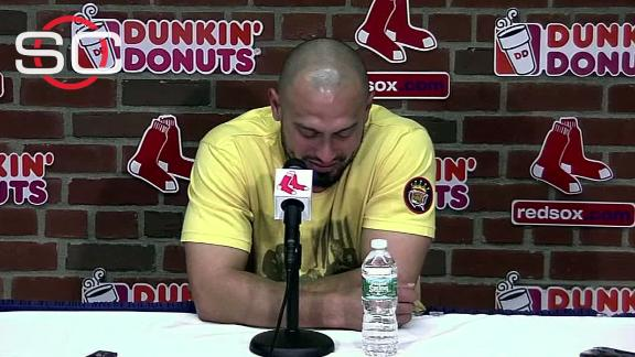 Victorino emotional about trade from Boston