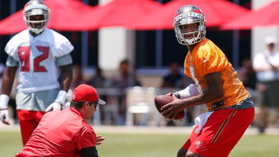 Buccaneers name Jameis Winston starting quarterback