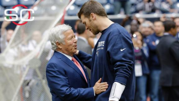 Kraft stands up for Brady, team