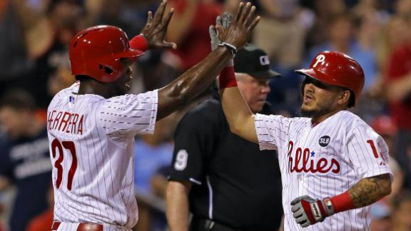 Phillies push past Braves
