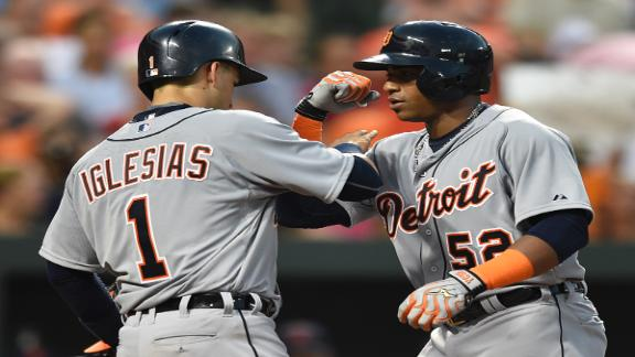 Tigers claw past Orioles