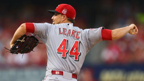 Mike Leake sent to San Francisco Giants for two minor leaguers