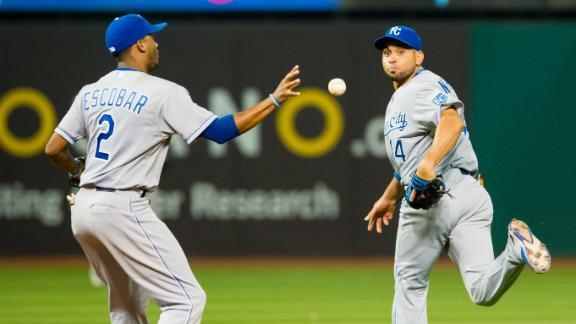 ESPN Sport Science: Omar Infante & Alcides Escobar