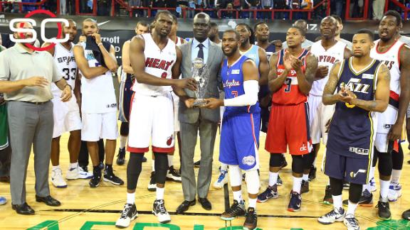 Team World triumphs in inaugural Africa Game