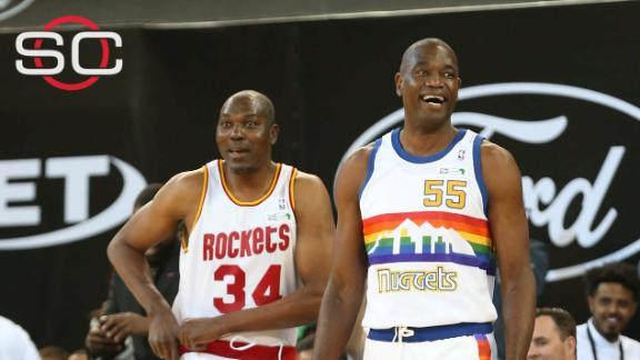NBA stars, legends shine in Africa exhibition