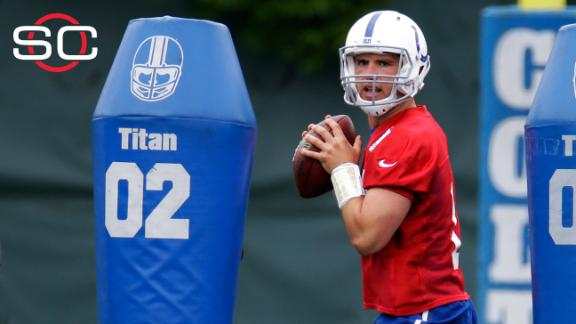 Luck focused on camp, starting fresh