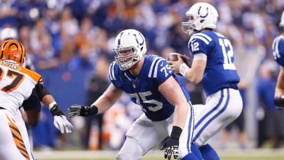 Video - Uncertainty on Colts' offensive line could hurt Luck