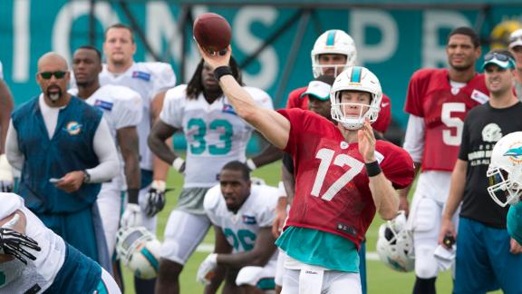 Dolphins' offense has work to do in red zone