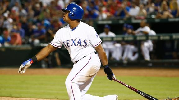 Rangers' Adrian Beltre hits for third cycle of career
