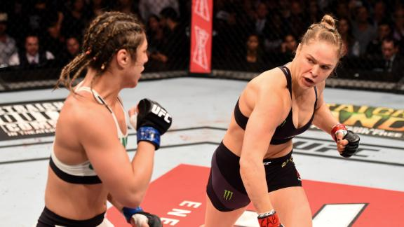 Report Card: Rousey makes lopsided matchup fascinating