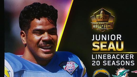 Junior Seau honored by his daughter
