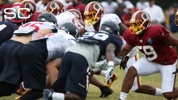Redskins, Texans' joint practice marred by fights