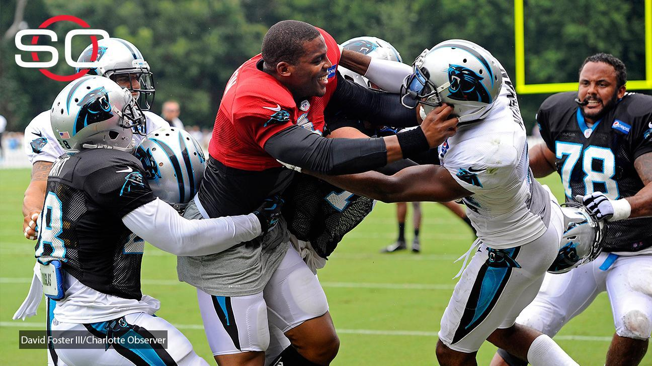 Cam Newton involved in training camp scuffle