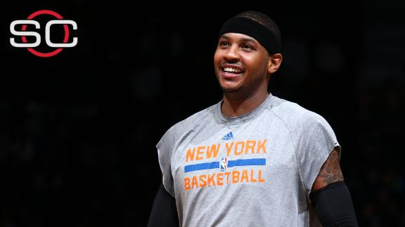 Melo talks about Knicks' offseason moves