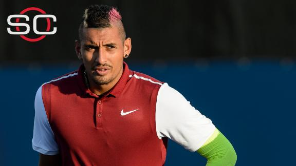 Kyrgios fined for comments directed at Wawrinka