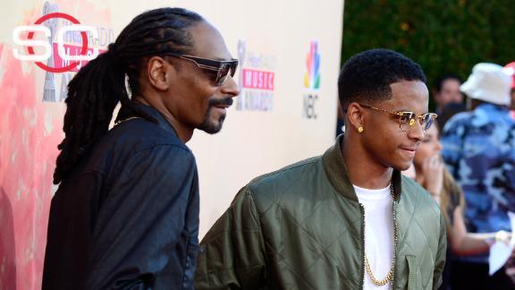 Snoop's son picks film over football