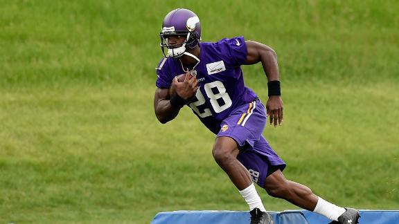 Matthew Berry: 'Big year coming for Peterson'
