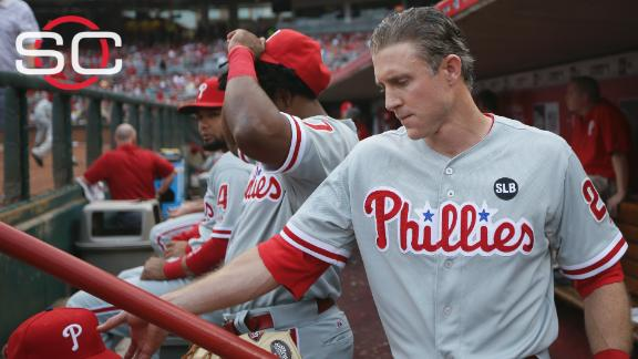 Chase Utley holding up potential trades?