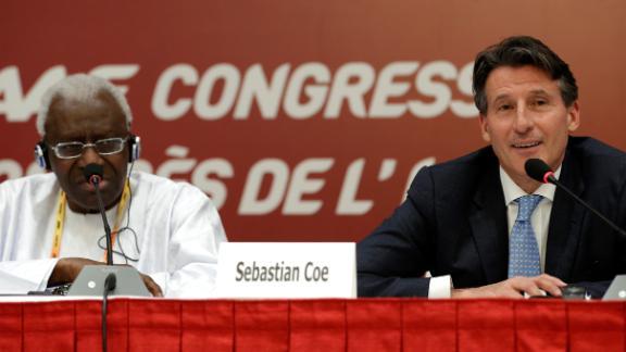 Sebastian Coe elected new IAAF president