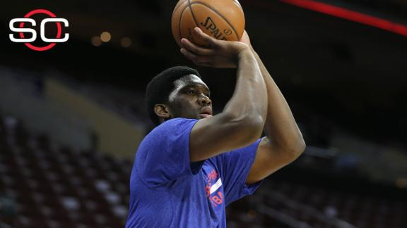 Second surgery sidelines Sixers' Embiid