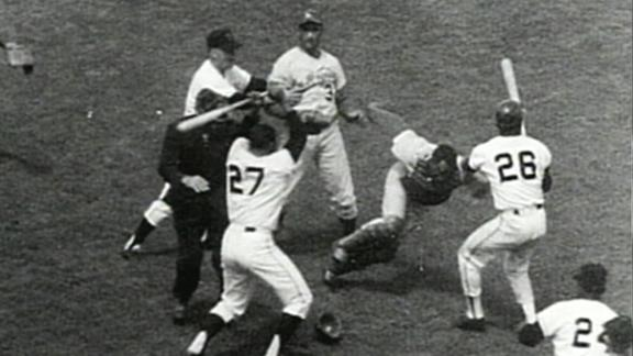 50th anniversary of the wildest baseball brawl