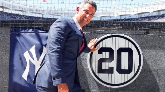 Yankees honor Posada, beat Indians