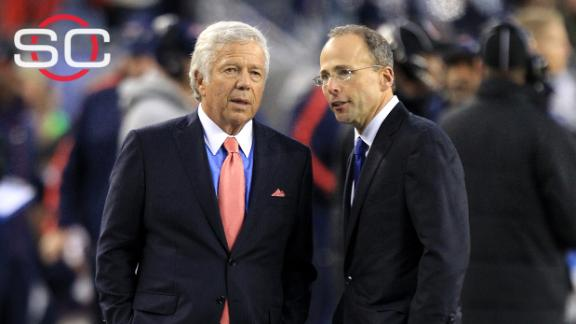 Jonathan Kraft voices thoughts on NFL disciplinary process