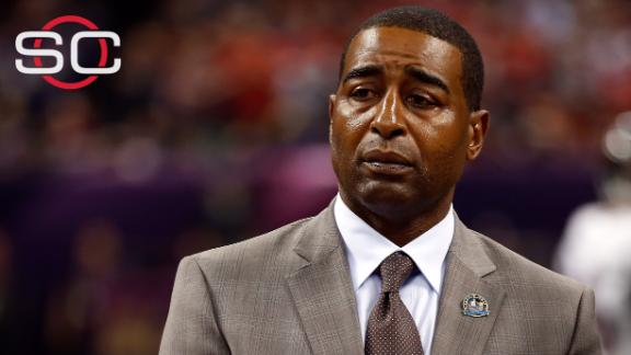 ESPN condemns Cris Carter's 'fall guy' comment