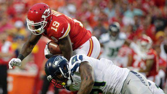 Berry: Maclin is going to be a target monster
