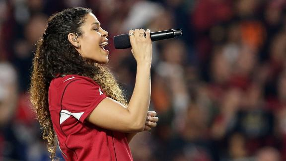 Jordin Sparks dishes about her fantasy league