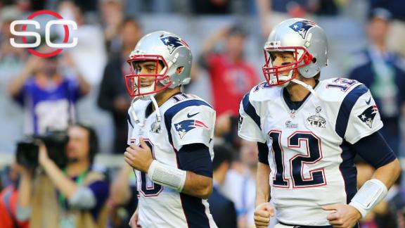 Patriots QB Jimmy Garoppolo showed potential while at Eastern I…