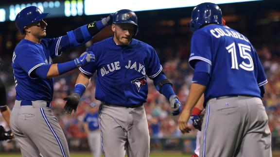 Stack Blue Jays' hitters in daily fantasy for Aug. 28