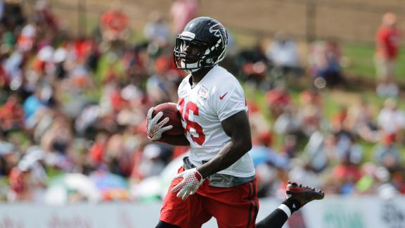 Falcons rookie RB Coleman set to make debut