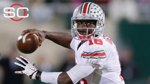 J.T. Barrett the choice at QB for Ohio State?
