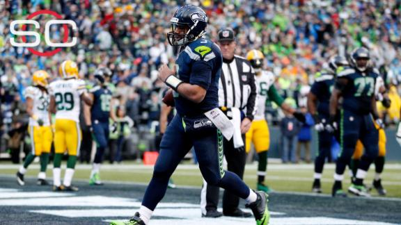 Russell Wilson clarifies water comments, says he didn't have concussion in title game