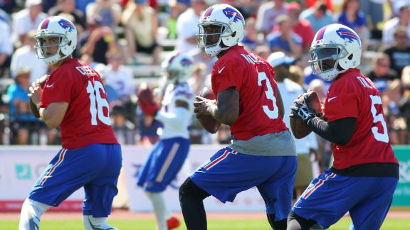 Video - Do the Bills know who their starting QB will be?