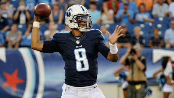 Video - Marcus Mariota in the context of the Titans' last two first-round...
