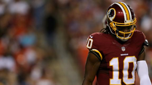 Is a preseason game a big deal for RG3?