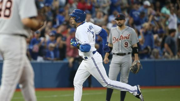 Long ball leads Blue Jays past Tigers