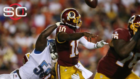 Doctor: RG III not cleared to return for Redskins