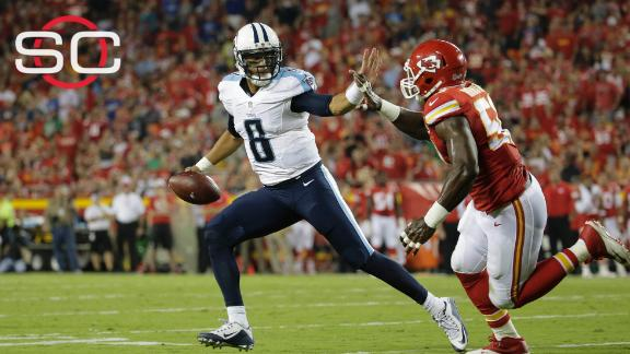 Titans fired up that Marcus Mariota was fired up after Justin H…