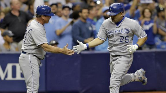 Royals take opener from Rays