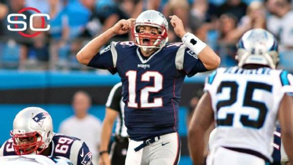 Brady throws 2 INTs in Patriots' win