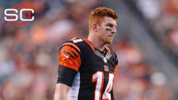 Dalton leaves early in Bengals' win