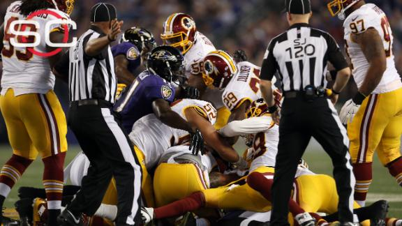 Scuffle ensues in Redskins' win