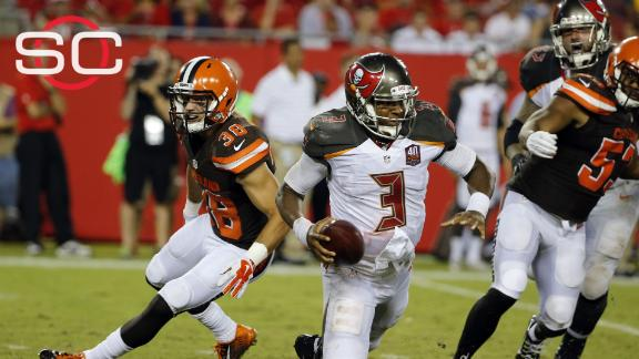 Browns beat up Winston, Bucs