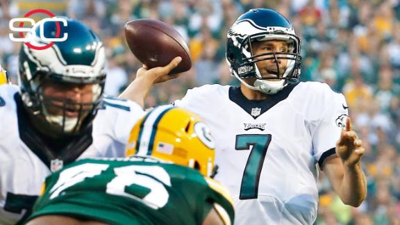 Bradford impresses, Cobb injured in Eagles' win